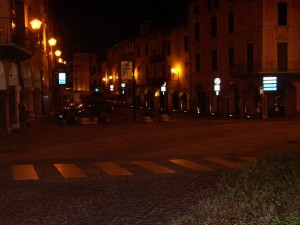 05 Piazza centrale di Gavardo - Illuminazione artistica