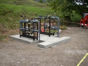 10 - Anfo rete gas Metano particolare cabina