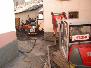 14 - Pertica Alta scavi per posa rete GPL