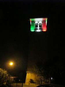 23- Torre campanaria Muscoline di notte