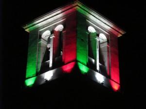 25 - Torre campanaria Muscoline di notte
